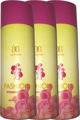 Arochem 3 X Fashion Deodorant Spray  -  For Men, Women