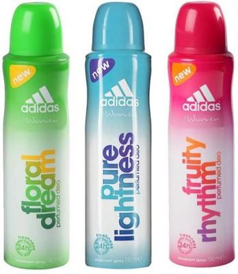 Adidas fruity lights Body Spray  -  For Women