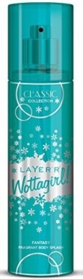 LAYER`R - SHOT WOTTAGIRL - FANTASY - CLASSIC COLLECTION Body Spray - For Girls(135 ml)