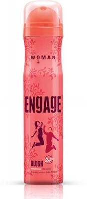 Engage Blush Woman Deo Body Spray 150 ml - For Girls