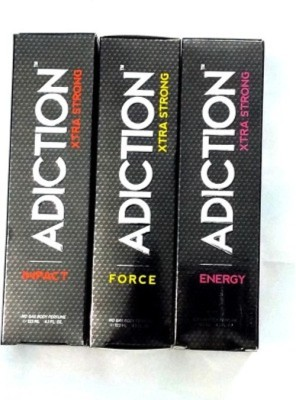 Adiction Xtra Strong Impact,Force,Energy combo Body Spray - For Boys, Girls