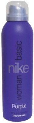 Nike Basic Purple Deodorant Spray - For Women  (200 ml)