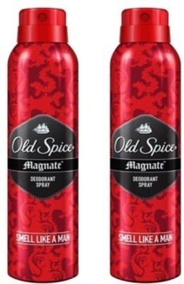 Old Spice Magnate Deodorant Spray (Pack of 2) Body Mist  -  For Men