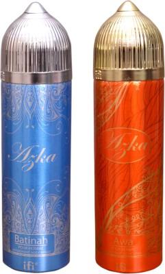 AZKA 1 BATINAH::1 AWA Deodorant Spray  -  For Men, Women
