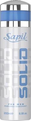 Sapil Solid Deodorant Body Mist  -  For Boys(200 ml)