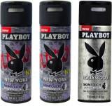 Play Boy 1Hollywood, 2New York Deodorant...