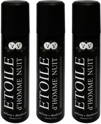 Vincent Valentine Paris Etoile Body Spray - For Men, Girls(160 ml)