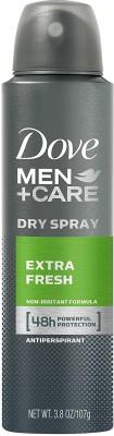 Dove Antiperspirant Extra Fresh Deodorant Spray  -  For Men(107 g) at flipkart