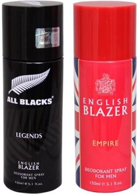 English Blazer 1 LEGENDS::1 EMPIRE Deodorant Spray  -  For Men