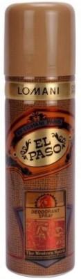 Lomani El Paso Deodorant Spray  -  For Men