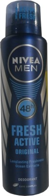 Nivea Fresh Active Orignal Deodorant Spray - For Men