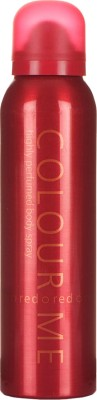 Colour Me Highly Perfumed - Red Deodorant Spray  -  For Women