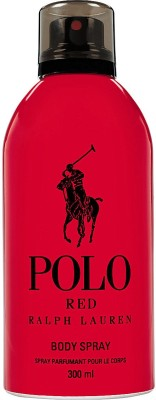 Ralph Lauren Polo Red Deodorant Spray  -  For Men, Boys