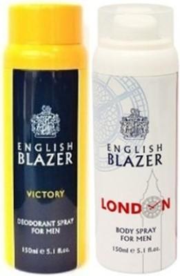 english blazer victory and london Deodorant Spray  -  For Men