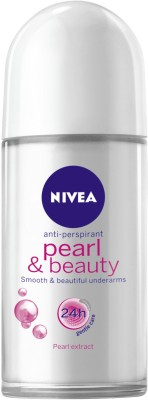 Nivea Roll-on Pearl and Beauty Deodorant Roll-on  -  For Women