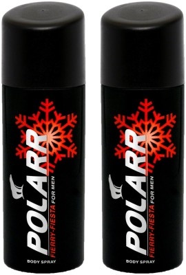POLARR Fierry Fiesta Deodorant Spray  -  For Men, Boys