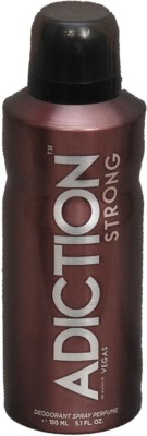 Adiction VEGAS STRONG Deodorant Spray - For Boys, Girls(150 ml)