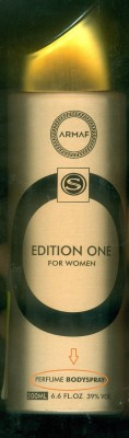 Armaf Edition One Perfume Body Spray  -  For Women(200 ml)