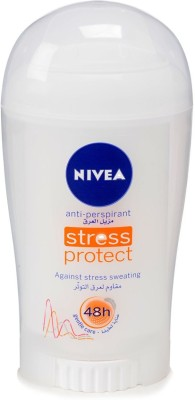 Nivea Stress Protect Antiperspirant Against Stress Sweating 48h Deodorant Roll-on  -  For Men