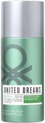 Benetton United Dreams Be Strong Deodorant Spray  -  For Boys, Men