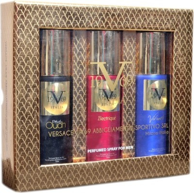 V19.69 Italia presented by Versace 19.69 Abbigliamento Sportivo SRL Deodorant Gift Set Male (Set of 3) Deodorant Spray  -  For Men