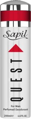 Sapil Quest Deodorant Body Spray  -  For Men