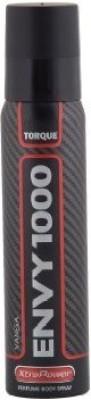 Vanesa Envy 1000 Xtra Power Black Torque Deodorant Spray  -  For Men