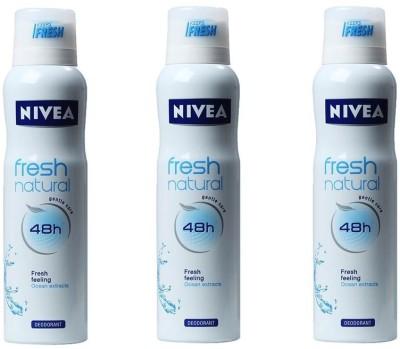 Nivea Fresh Deodorant Spray  -  For Women