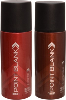 POINT BLANK 1 PACIFIER::1 CANDID RIGHT Deodorant Spray  -  For Men