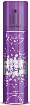Layerr Wottagirl Classic Collection Heaven Fragrant Body Splash Body Spray - For Women(135 ml)