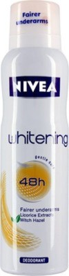 Nivea whitening floral touch Body Spray  -  For Women, Men