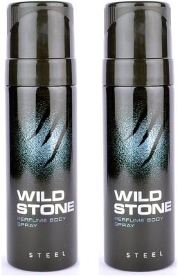 Wild stone Steel Body Spray  -  For Boys, Men
