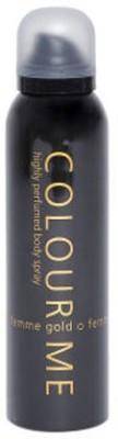 Colour Me Femme Gold Deodorant Body Spray  -  For Women