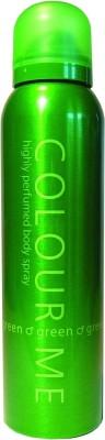 Colour Me Green Deodorant Spray  -  For Men