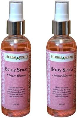 Herbal Roots Flower Blossom Body Mist  -  For Girls, Women