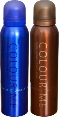 COLOR ME 1 BLUE::1 OUDH DEO Deodorant Spray  -  For Men