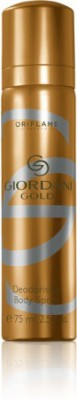 Oriflame Sweden Giordani Gold Deodorising Spray Body Spray  -  For Men, Boys, Girls