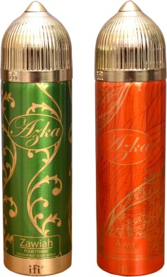 AZKA 1 ZAWIAH::1 AWA Deodorant Spray  -  For Men, Women