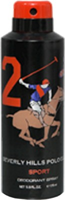 Beverly Hills Polo Club Sport 2 Deodorant Spray  -  For Men