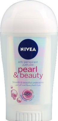 Nivea Pearl and Beauty Smooth Beautiful under arms Antiperspirant 48h Gentle care Deodorant Roll-on  -  For Men, Girls, Boys, Women