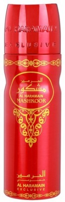 Al Haramain Mashkoor Body Spray  -  For Men