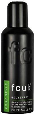 FCUK Style Deodorising Body Spray  -  For Men