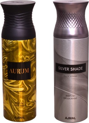 AJMAL 1 AURUM::1 SILVER SHADE Deodorant Spray  -  For Men