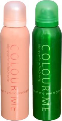 COLOR ME 1 PEARL::1 GREEN DEO Deodorant Spray  -  For Men