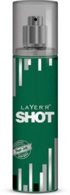Layerr Shot - Royal Jade Deodorant Spray - For Men, Boys(135 ml)