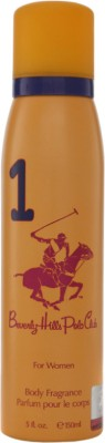 Beverly Hills Polo Club 1 Deodorant Spray - For Women  (150 ml)
