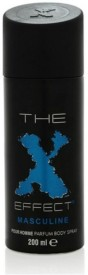 X Effect MASCULINE Deodorant Spray - For Men