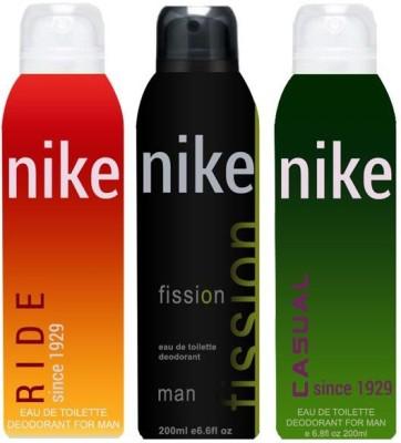 Nike Ride Fission Casual Body Spray  -  For Men