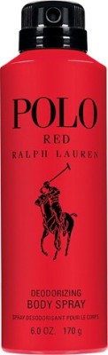 Ralph Lauren Polo Red Body Spray  -  For Men, Boys