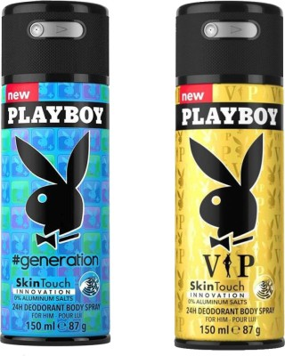 Play Boy Generation, vip Body Spray - For Men(300 ml)